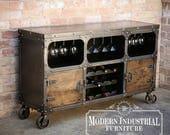 Modern Industrial Wine Ca...