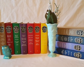 Vintage Set of Readers Digest Best Loved Books for Young Readers, Decorative Hardcover Book Collection. '60s