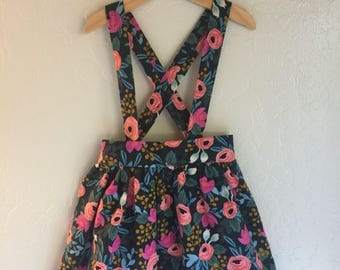 Rifle Paper Co Suspender Skirt