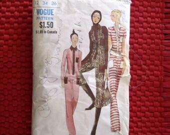 Vintage Miss Vogue Pattern 7882 Women's Jumpsuit w/pockets