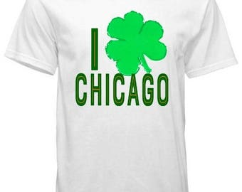 I Clover Chicago St. Patrick's Day Tee