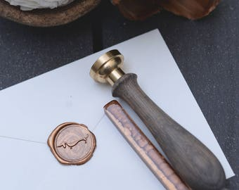 Bronze sealing wax bar