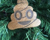 Emoji ornament, stocking stuffer, pile of poop emoji, funny gift, gift for him, gifts for coworker, gift under 20, christmas gift,funny gift