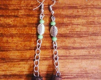 Restored Tree Limbs - Handmade earrings by Ansley Jukeboxx Joye