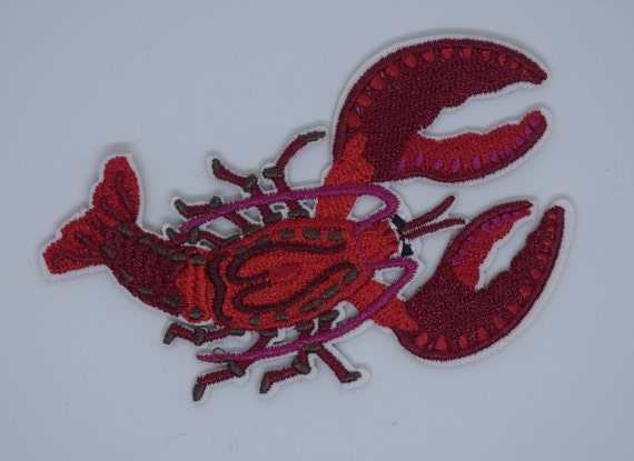 Lobster Iron on Patch