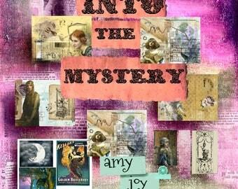 Into the Mystery  Vintage Journal Kit  Mystical  Digital Journal Kit  junk journal kit vintage  ephemera   mythical  boho journal  ephemera