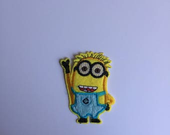 Minion Iron on patch