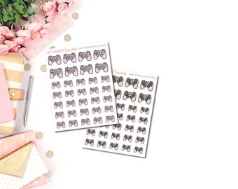 Game Controller Planner Stickers, Gaming Stickers, Video Game Stickers, Video Games, Controller Stickers, xbox, Playstation