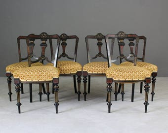 Aesthetic Movement Dining Chairs