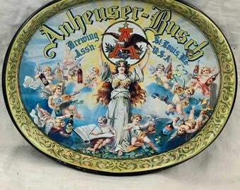 Vintage Anheuser-Busch Beer Tray