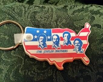 Statler Brothers USA Key Fob