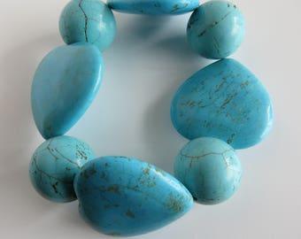 Beautiful Turquoise Elastic Bracelet