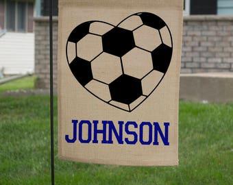 Soccer Yard Signs - Soccer Garden Flag - Soccer Mom Gifts - Soccer Mom Gear - Soccer Fan - Soccer Fan Gift - Soccer Family