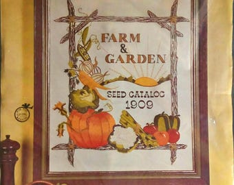 Farm and Garden Picture Crewel