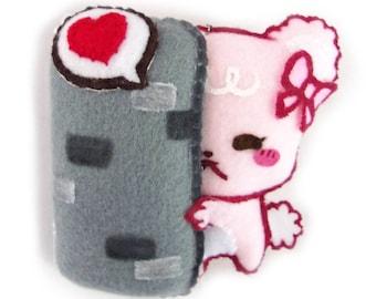HIDDEN LOVE Sugar Cubs plushie keychain (facebook sticker)