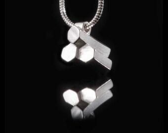 Silver Giants Causeway Necklace - Sterling Silver Necklace 925,  Causeway Necklace, Necklace Silver jewellery UK, UK Seller HALLMARKED