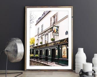 Photographie Fine Art d'un Restaurant Parisien