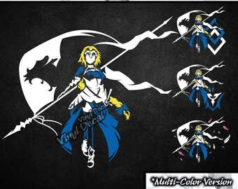 Ruler Jeanne d'Arc Vinyl Decal (Fate Apocrypha Anime Series) *Multi-Color Version*