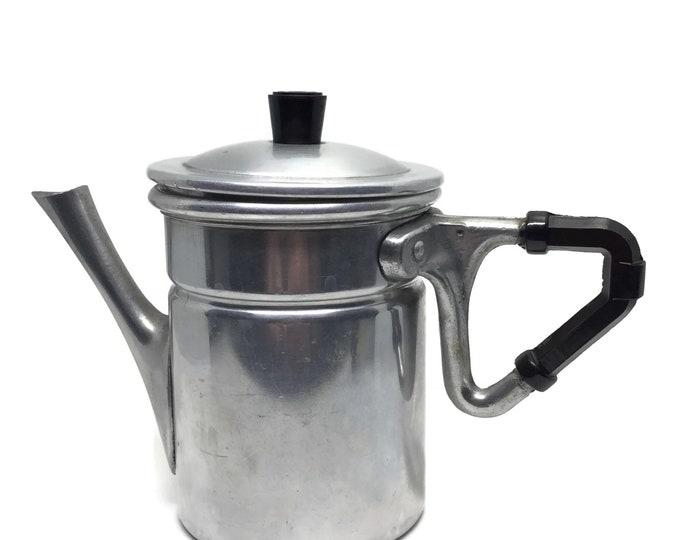 Napoletana Neapolitan Aluminum Stove Top Espresso or Coffee Pot
