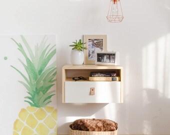 Bedside table, nightstand, end table, mid century modern nightstand, scandinavian nightstand, nordic nightstand, scandinavian design