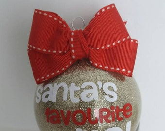 Personalised  Christmas Bauble - Funny Christmas Bauble - Novelty Gift