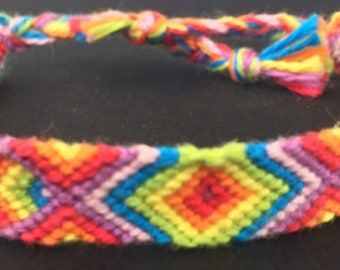 Psychedelic Friendship Bracelet