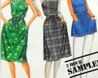 McCall's wrap dress or jumper and top, bust 30 1/2 - 42