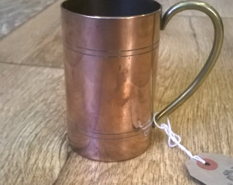 Copper and Brass Cup