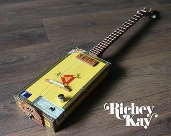 Richey Kay 3 string Cigar Box Guitar