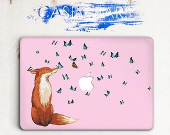 Fox MacBook Case Macbook Pro 13 Case Macbook Pro 15 2016 Case Macbook Air 11 Case Macbook Air 13 Case Macbook Hard Case Laptop Case CG2004