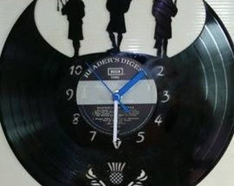 Bag Pipers Themed Record Clock