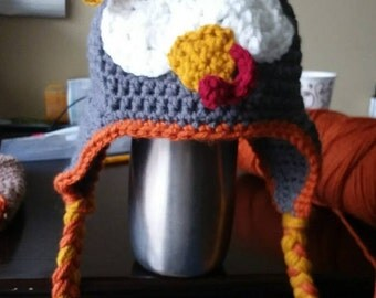 Turkey knit hat for your little one