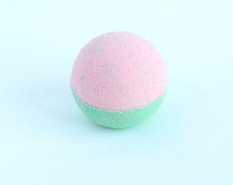 Watermelon Jumbo Bath Bomb, Bath Fizzy, Bath Fizzer, Bath Fizzie, Bath and Body