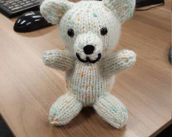 Hand Knit Polar Bear
