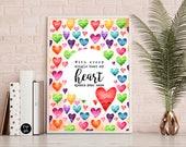 Love Graphic Print, Love ...
