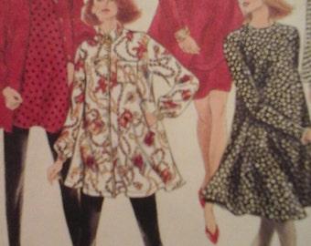 Simplicity 8079 Maternity Leggings, Skirt, Dress or Tunic Pattern,  Size HH 6-12