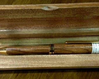 Exotic wood pens