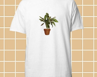 Ficus Plant Leon The Professional Hipster Grunge Pinterest Aesthetic 90s t shirt