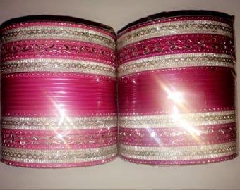 Naulakha's Exclusive Bangles (Silver Edition)