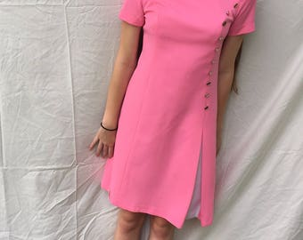 1960s style shift dress  Size S