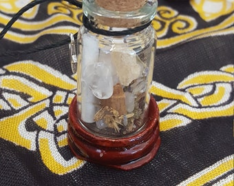 Magic Wicca Spell Sage Jar Love