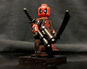 Deadpool Custom Minifigure | X-Men | Marvel Superheroes