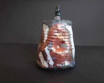 Raku Fired Jar