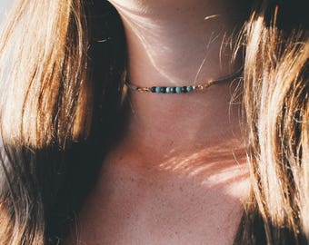 CUSTOM - Beaded Choker