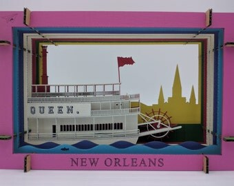Paddlewheel River Boat New Orleans