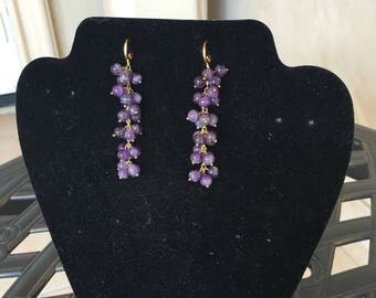 Amethyst  Earring by Dobka