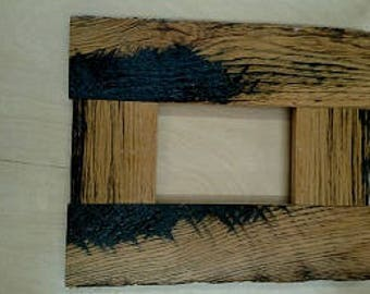 5 x 7  Reclaimed oak picture frame