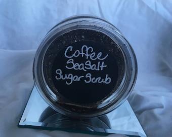 Coffee Sea Salt Sugar Scrub