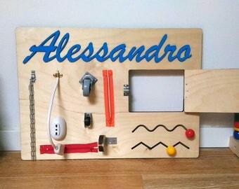 Montessori activities Panel