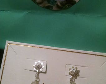 Quartz Sterling Silver Earrings